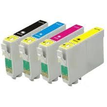 Dubaria 73N Compatible Ink Cartridges For Epson Use In T0731N / 732N / 733N / 733N, C110, C79, C90, C92, CX3900 , CX4900, CX5500, CX5600, CX5900, CX6900F, CX7300, T10, T11, T20, T30, TX100, TX110, TX121, TX200 , TX210, TX220, TX300F, TX400, TX510FN