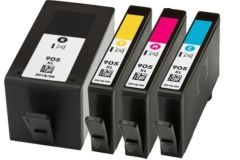 StarInk 905 XL Ink Cartridge Compatible For HP 905 XL (909) Ink Cartridge For Use In HP Pro 6950, 6956, 6960, 6970 Printers - Cyan, Magenta, Yellow & Black - Combo Value Pack