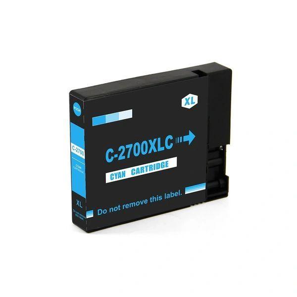 StarInk 2700 XL Cyan Ink Cartridge Compatible For Canon PGI 2700 XL Cyan Ink Cartridge For Use In Canon Maxify IB 4080, IB 4070, IB 4170, MB 5070, MB 5080, MB 5370, MB 5470, MB 4075, MB 5170 Printer