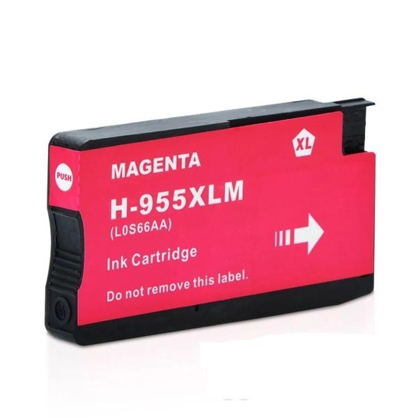 StarInk 955 XL Magenta Ink Cartridge Compatible For HP 955 XL Magenta Ink Cartridge For Use In HP OfficeJet Pro 7740, 8210, 8216, 8700, 8710, 8715, 8716, 8717, 8720, 8725, 8727, 8730, 8740, 8745 All-in-One Printer, HP OfficeJet Managed MFP P27724dw