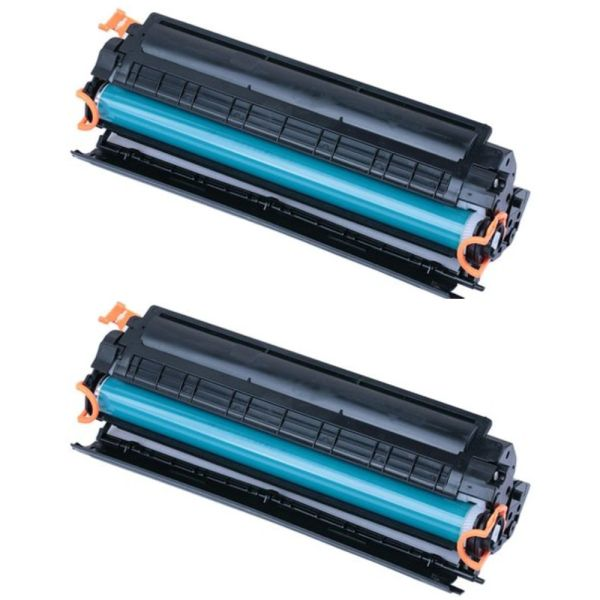 Dubaria 88A Toner Cartridge Compatible For HP 88A / CC388A Black Laser Toner Cartridge For Use In P1007, P1008, P1106, P1108, M202, M202n , M202dw , M126nw , M128fn , M128fw , M226dw , M226dn , M1136 , M1213, M1213nf , M1216, M1216nfh Printers-pack of 2