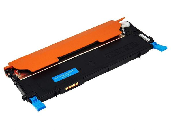Dubaria 407 Cyan Toner Cartridge Compatible For Samsung 407 / CLT-C407S Toner Cartridge For Use In Sasmung CLP-320, CLP-320N, CLP-321, CLP-325, CLP-325W, CLP-326, CLX-3180, CLX-3185, CLX-3185FN, CLX-3185FW, CLX-3185N, CLX-3186 Printers