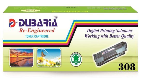 Dubaria 308 Compatible For Canon 308 Toner Cartridge For For Canon LBP 3300, LBP 3360 - Black Toner Cartridge