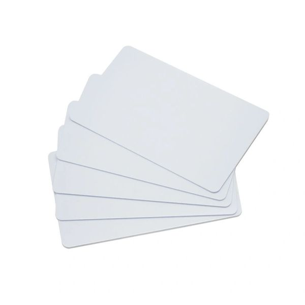 Dubaria Plain White PVC ID Cards For Epson L800, L805, L810, L850, R280, R290, T50, T60, P50, P60 InkJet Printers - Set of 100 Cards