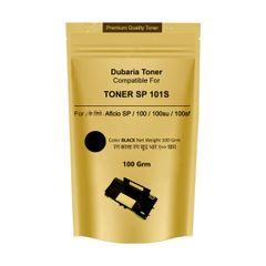 Dubaria Toner Powder Pouch Compatible For Use In Ricoh SP100 / SP111 / SP111SU / SP200 / SP210 / SP212SNw / SP300 / SP 300DN / SP310DN / SP 325Sfnw / SP3400 / SP3410 / SP3510 / Aficio 3510DN Printers – 100 Grams