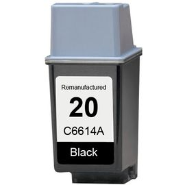 Dubaria 20 Black Ink Cartridge Compatible For HP 20 Black Ink Cartridge