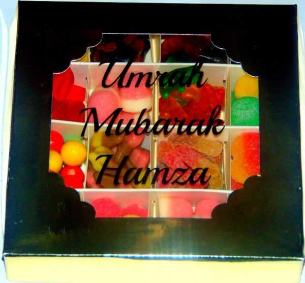 Personalised Halal Pick N Mix Sweet Gift Box HMC Sweets