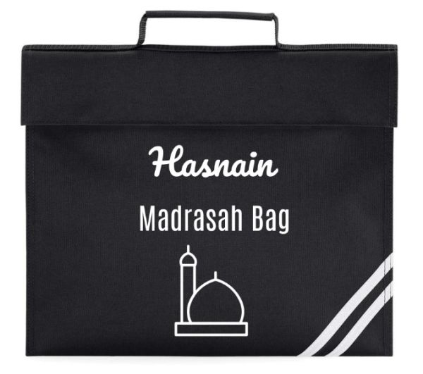 Personalised Kids Madrasah Bag