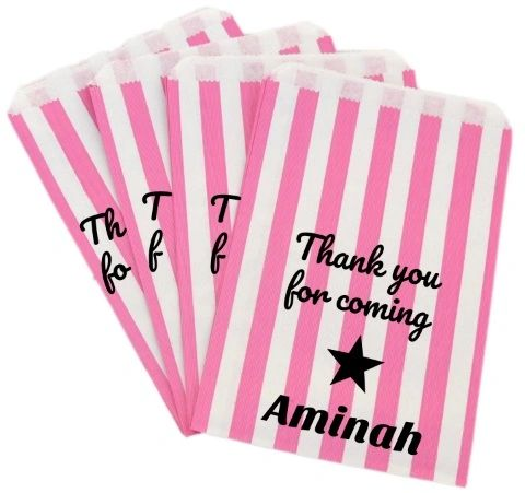 Personalised Halal HMC Sweet Bags
