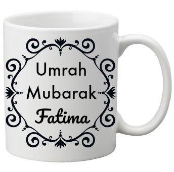 Umrah Mubarak Personalised Islamic Gift Mug