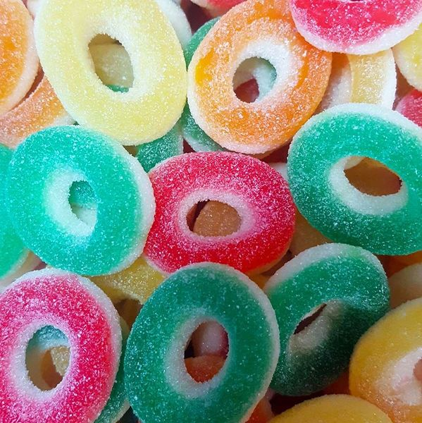 Fizzy Rings HMC Approved Halal Sweets