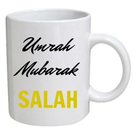 Personalised Umrah Gift Umrah Mug Umrah Mubarak