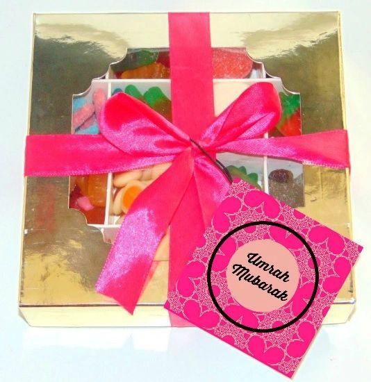 Umrah Mubarak Halal Pick N Mix Sweet Gift Box HMC Sweets