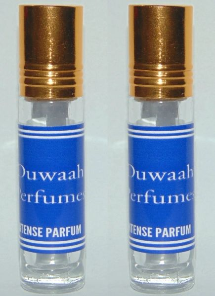 2X MENS DESIGNER PERFUME OIL ALTERNATIVE FRAGRANCE DUWAAH PERFUMES