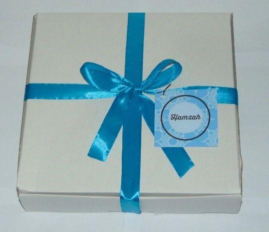 Personalised Large Halal Chocolate Box Gift Treats