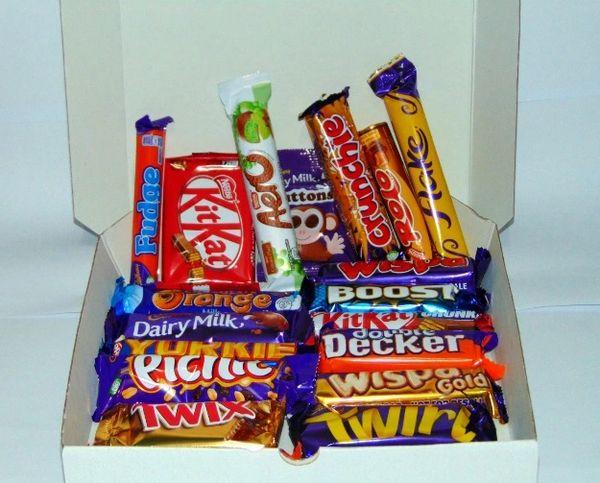 Personalised Halal Chocolate Pizza Box Gift Treats