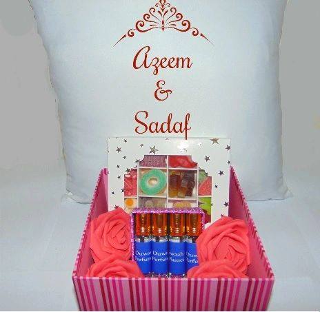 Personalised Wedding Gift Hamper/Gift Box