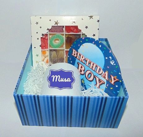 Personalised Boys Birthday Gift Hamper/Gift Box