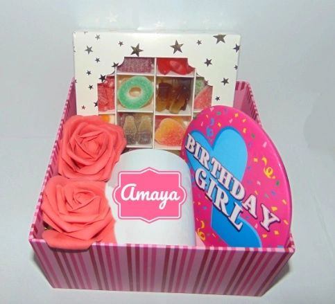 Personalised Girls Birthday Gift Hamper/Gift Box
