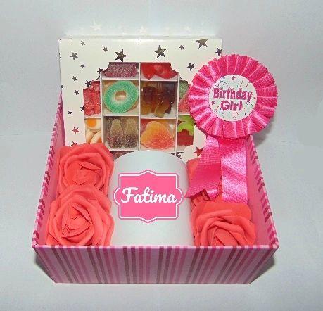 Girls Personalised Birthday Gift Hamper/Gift Box