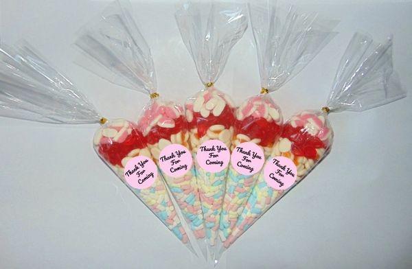 Personalised Pick N Mix Halal Sweet Cones