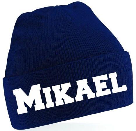 Personalised Kids Beanie Wool Hat Woolly Hat