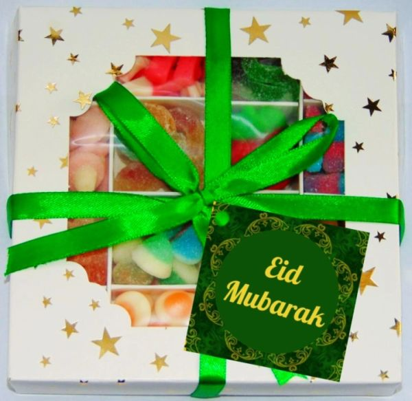 Eid Mubarak Halal Pick N Mix Sweet Box Gift