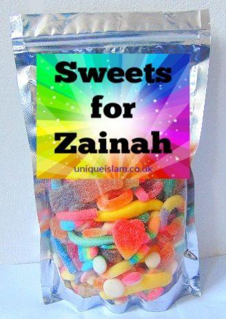 Giant Halal Pick N Mix 1KG Sweet Bag HMC Sweets Halal Sweet Bag