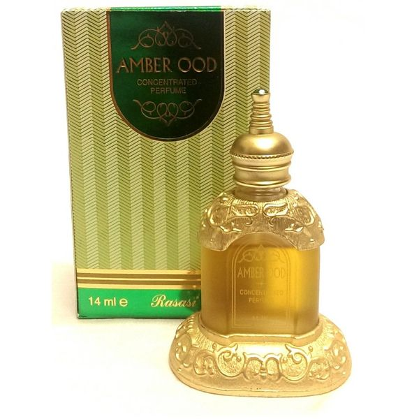 Amber Oudh By Rasasi Arabian Concentrated Perfume Oil 14ml