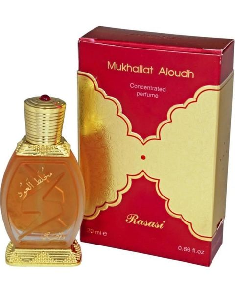 Mukhallat Al Oudh By Rasasi Arabian Concentrated Perfume Oil 20ml