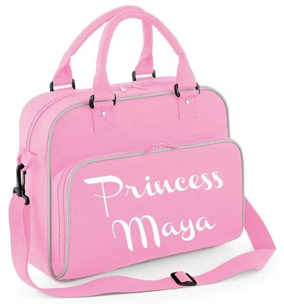 Personalised Baby Toddler Girls Pink Changing Bag