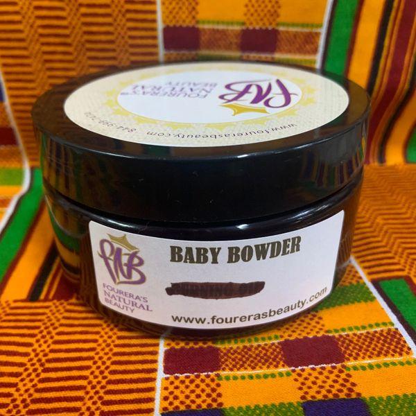 Baby Powder Shea Butter Cream 8oz