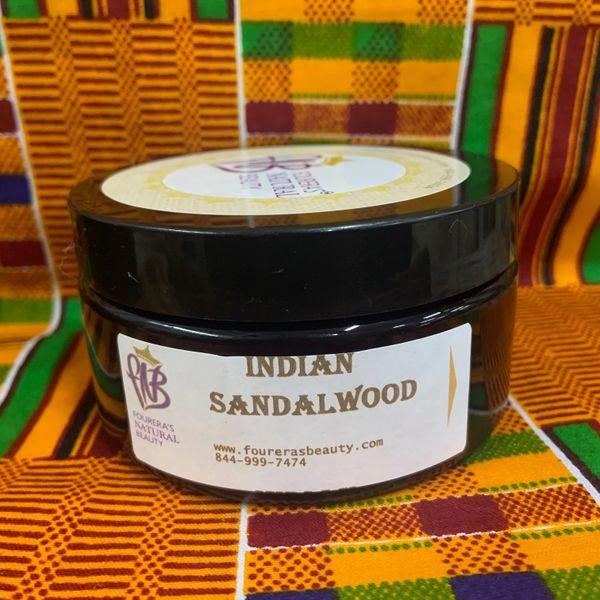 Indian Sandakwood Shea Butter Cream 8oz