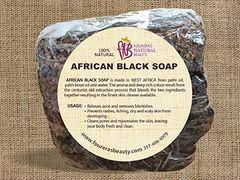 African Black Soap (16oz) Bar