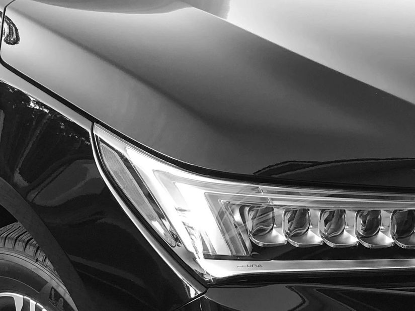 Acura MDX Black car service