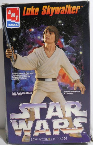 Luke Skywalker, Star Wars collector edition Vinyl Kit, AMT ERTL 1/6 RAY