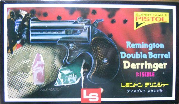 Remington Double Barrel Derringer, LS 1/1 RJMCK