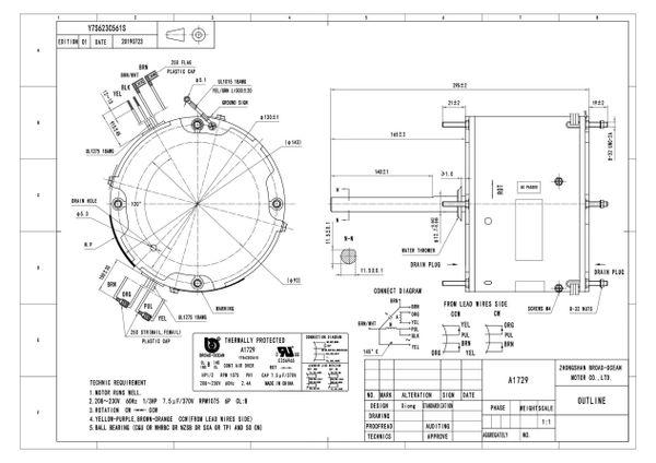 A1729, 1/3 HP Condenser Fan Motor, 1075 RPM, 2.4 AMP on transformer wiring diagram, goodman wiring diagram, condensing unit wiring diagram, evaporator wiring diagram, circuit board wiring diagram, single-phase motor reversing diagram, portable heater wiring diagram, geothermal heat pump wiring diagram, ac motor diagram, control board wiring diagram, window ac wiring diagram, condenser fan motor wiring, tankless hot water heater wiring diagram, thermostat wiring diagram, gas valve wiring diagram, pressure switch wiring diagram, split system heat pump wiring diagram, rheem condenser wiring diagram, compressor wiring diagram, ac condenser wiring diagram,
