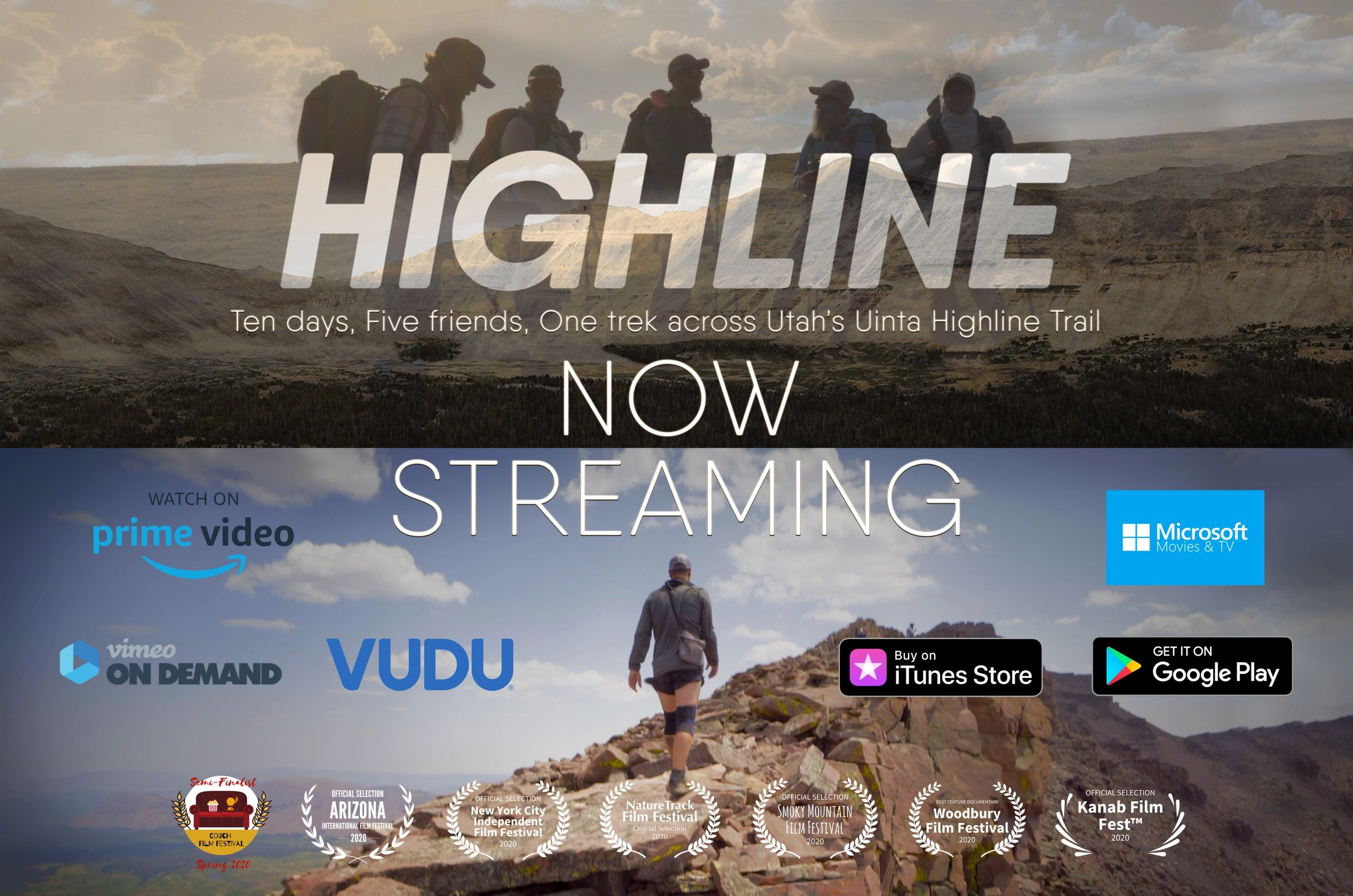 HIGHLINE 10 days, 5 friends, 1 trek across Utah's Uinta Highline Trail