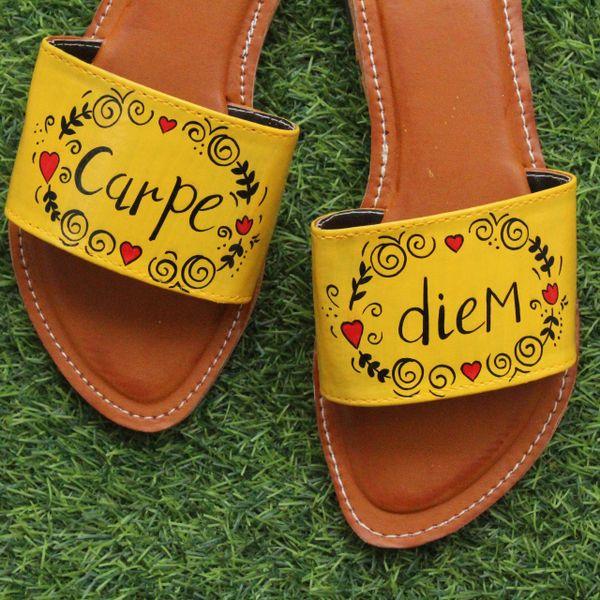 Carpe diem yellow