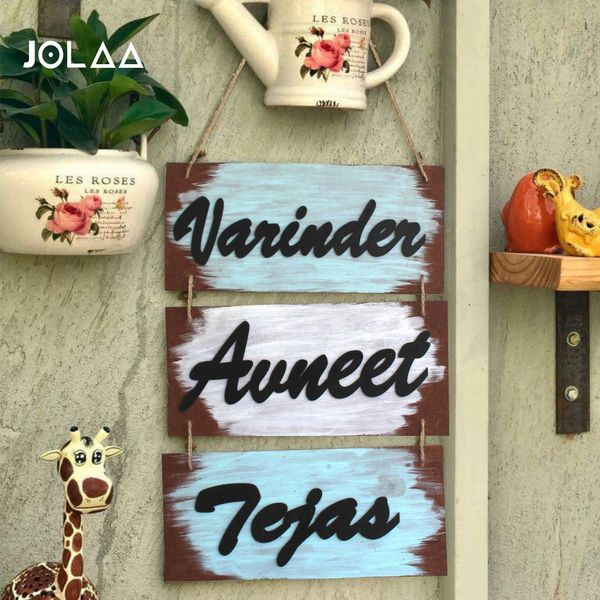 Personalized wall hanging