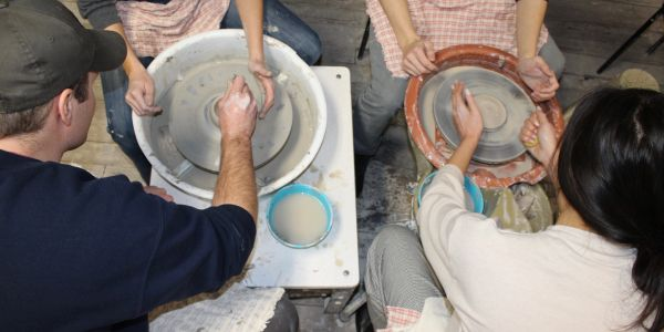 Clay Date Night and Pottery Wheel Throwing - BYOB in St. Louis
