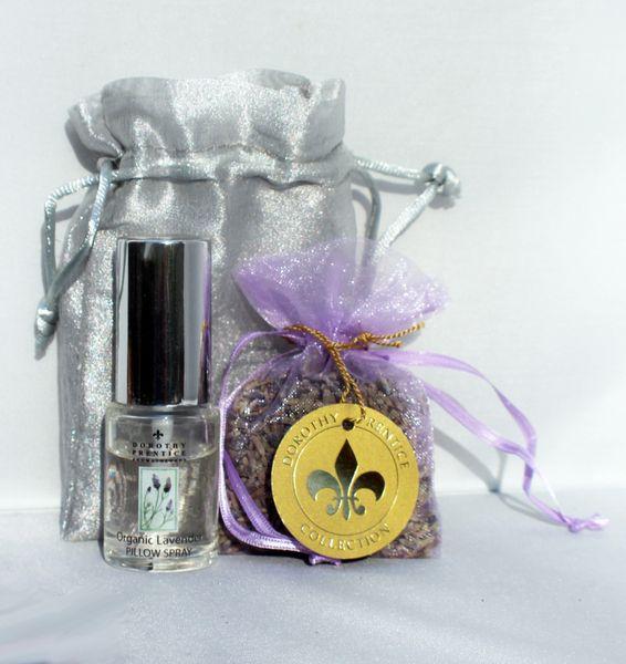 Lavender Pillow Spray / Sachet in Gift Bag