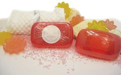 Pink Grapefruit Soap Set of 3