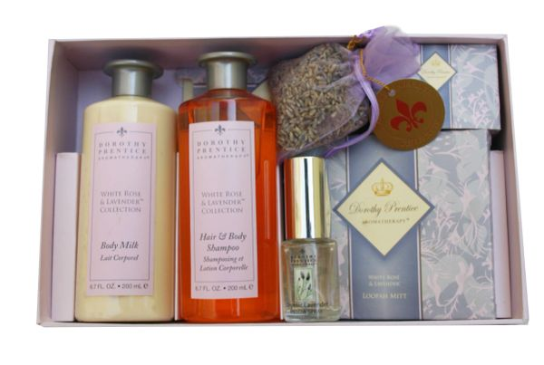 White Rose & Lavender Gift Set