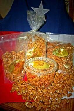 Medium Pecan Pieces - 2 lb. tub