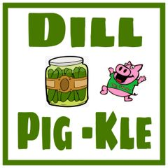 3 oz Pouch Dill Pig-kle