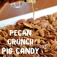 3 oz Pouch of Pecan Crunch Pig Candy