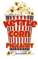 3 oz Pouch of Kettle Corn Pig Candy