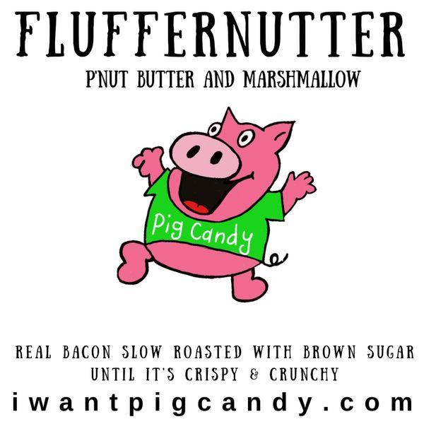 3 oz Pouch of Fluffernutter Pig Candy